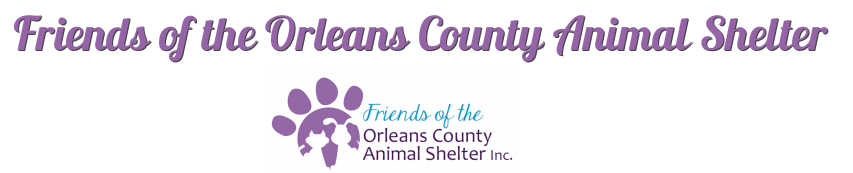 Friends of the Orleans County Animal Shelter
